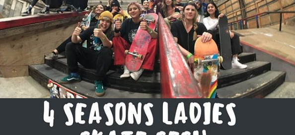 milwaukee 4 seasons girls skate ladies sesh