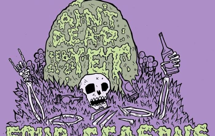 aint dead bmx jam february 21 & 22